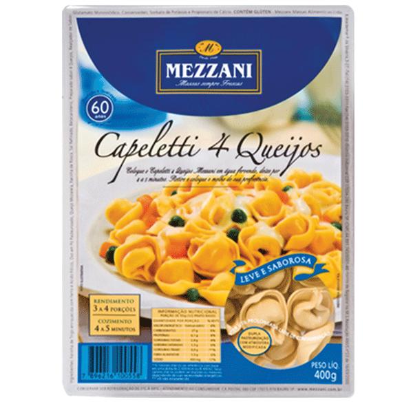 Capeletti Quatro Queijos